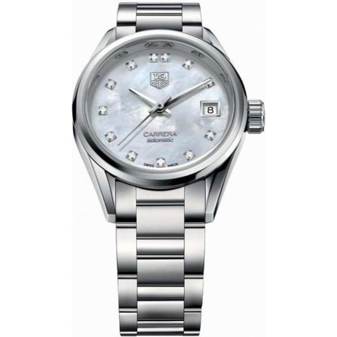 Tag Heuer Carrera Automatic Ladies Watch WAR2414.BA0770
