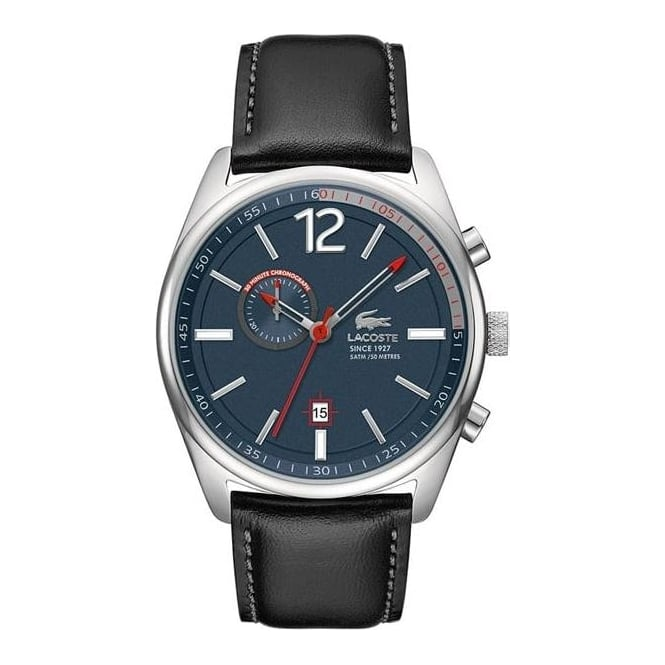 Lacoste Mens Austin Chronograph Leather Watch 2010729
