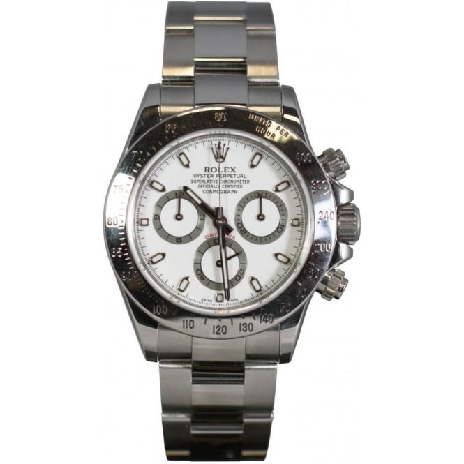 Pre-Owned Rolex Mens Cosmograph Daytona Stainless Steel