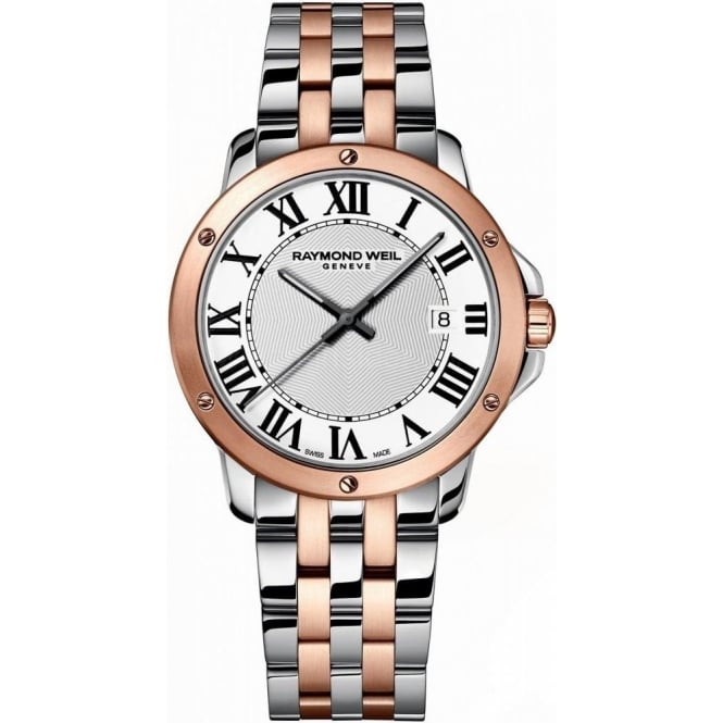 Raymond Weil Tango Mens Rose Gold Two Tone
