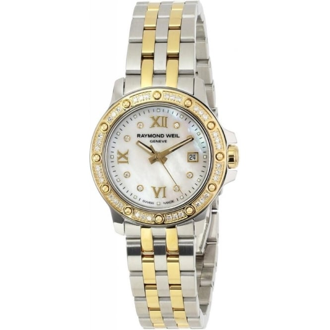 Raymond Weil Tango Ladies Diamond Set Two Tone Watch 5399-STP-00995