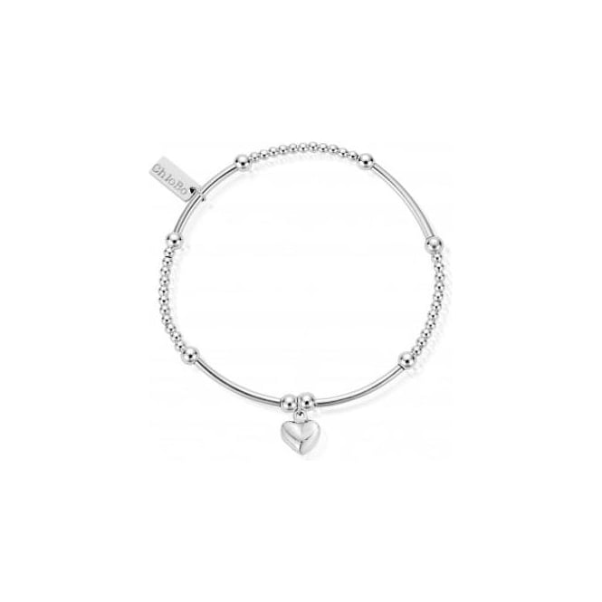 ChloBo Jewellery Cute Mini Puffed Heart Bracelet - SBCM023