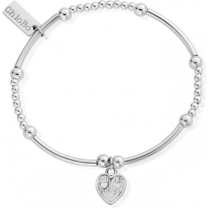 ChloBo Jewellery Cute Mini Tri-Heart Bracelet - SBCM005