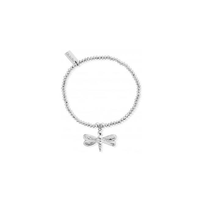 ChloBo Jewellery Mini Disc Dragonfly Bracelet -SBMD403