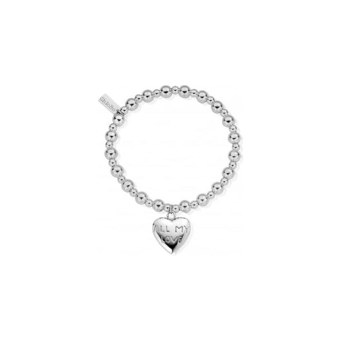 ChloBo Jewellery Mini Small Ball All My Love Bracelet - SBND019024