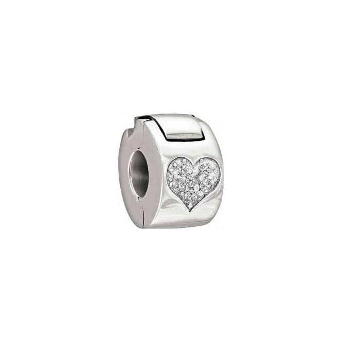 Chamilia Jewelled Heart Lock 1430-0008