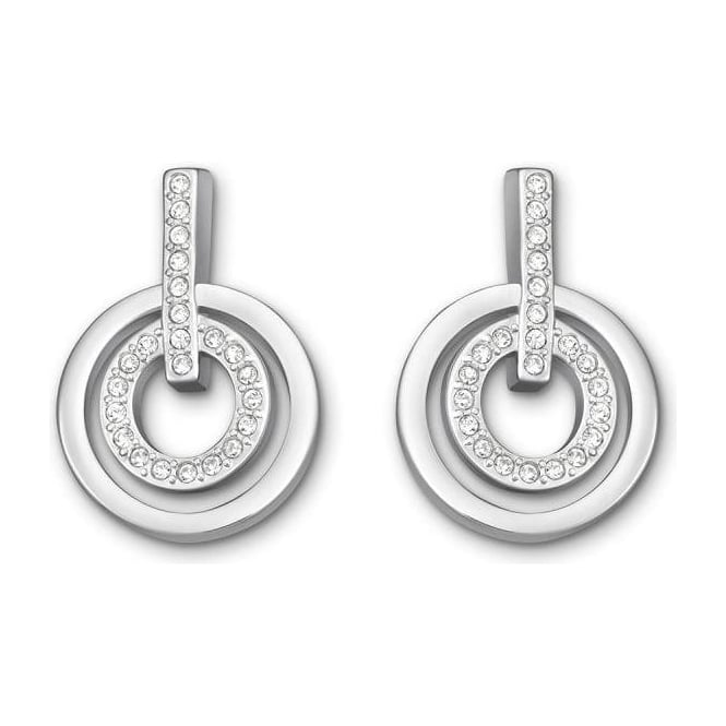 Swarovski Ladies Circle Mini Pierced Earrings 5007750