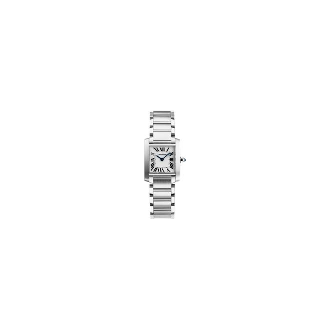 Cartier Ladies Tank Française Watch, Small Model W51008Q3