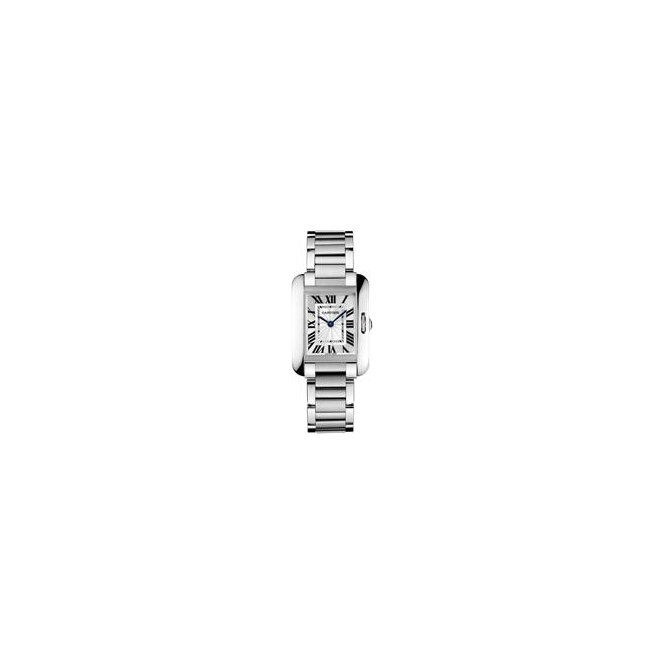 Cartier Ladies Tank Anglaise Watch, Small Model - W5310022