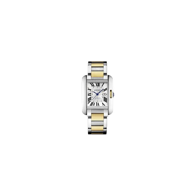 Cartier Ladies  Tank Anglaise Watch, Large Model - W5310047