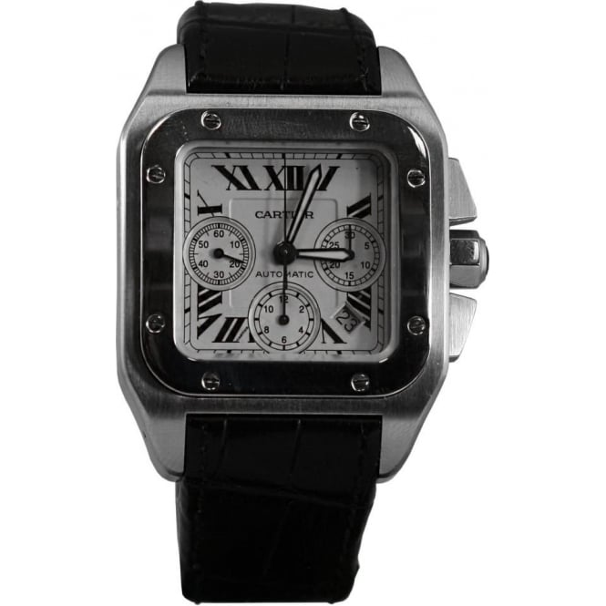 Pre-Owned Cartier Men's Santos 100