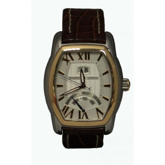 Pre-Owned Maurice Lacroix Men's Masterpiece Retrograde