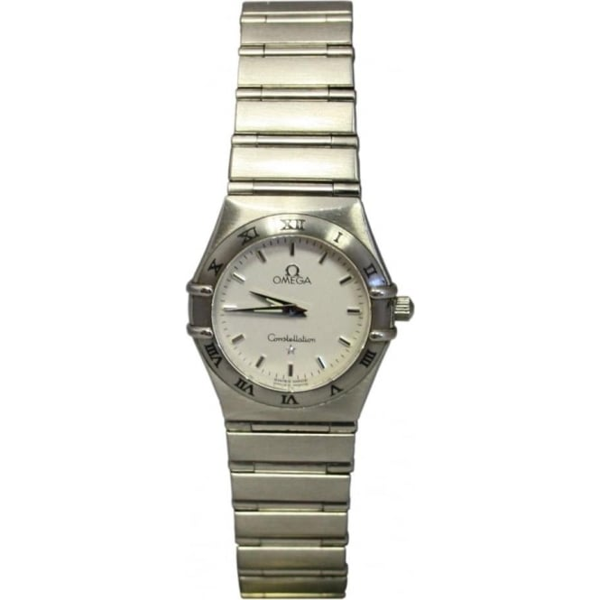 Pre-Owned Omega Ladies Stainless Steel Constellation