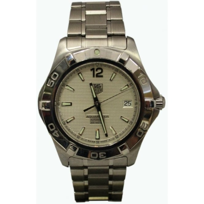 Pre-Owned Tag Heuer Men's Stainless Steel Aquaracer.