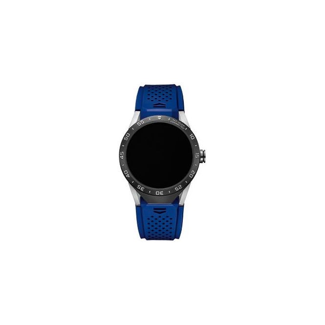 Tag Heuer Connected Blue Strap Watch. SAR8A80.FT6058