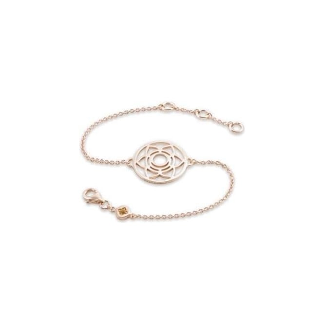 Daisy London Rose Gold Sacral Chakra Chain Bracelet - CHKBR1016