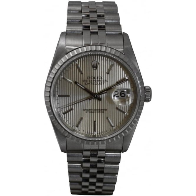 Pre-Owned Rolex Men's Stainless Steel Datejust.