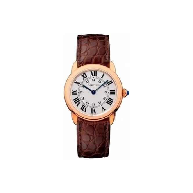 Cartier Ladies Ronde Solo Watch. Small Model W6701007