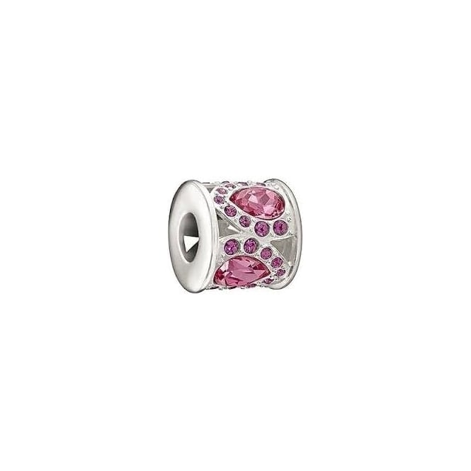 Chamilia Royal Petals Pink & Purple Charm 2083-0452