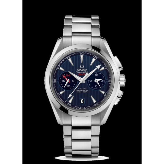 Omega Men's Aqua Terra GMT Chronograph 150m Watch - 231.10.43.52.03.001
