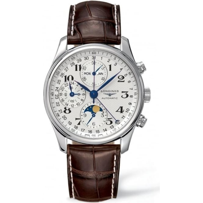Longines Men's Master Collection, Leather Strap