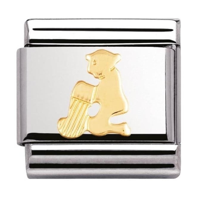 Nomination Classic Gold Aquarius Charm - 03010411