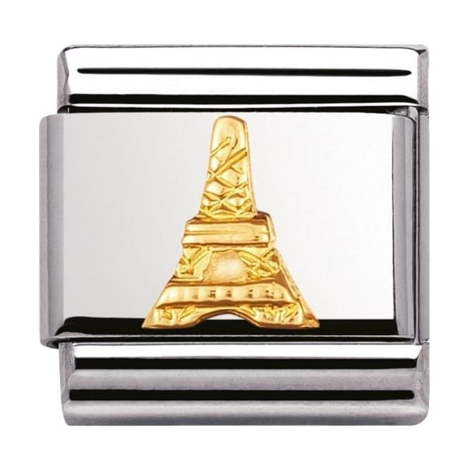 Nomination Classic Gold Eiffel Tower Charm - 03012315