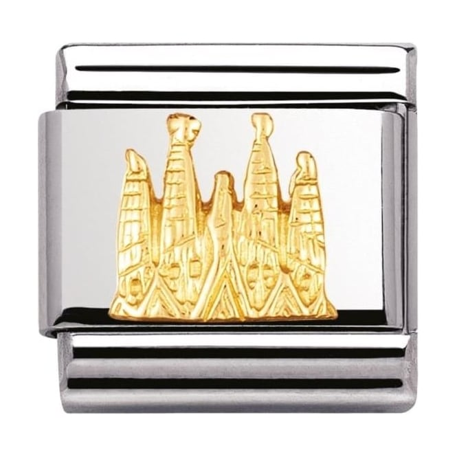 Nomination Classic Gold Sagrada Familia Charm