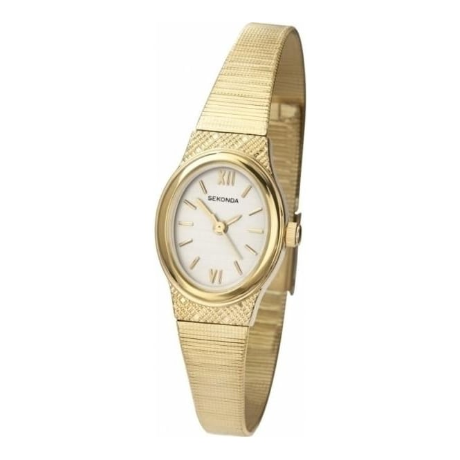 Sekonda Ladies Gold Tone Watch