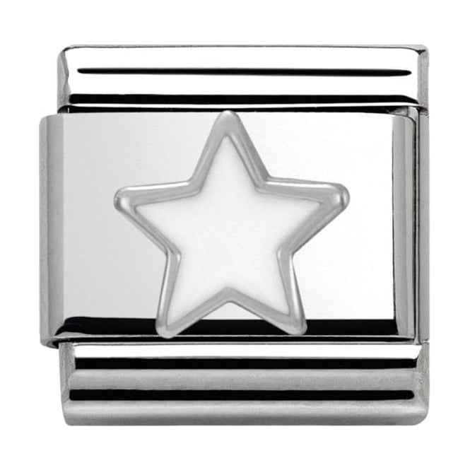 Nomination Classic Silver Daily Life White Star