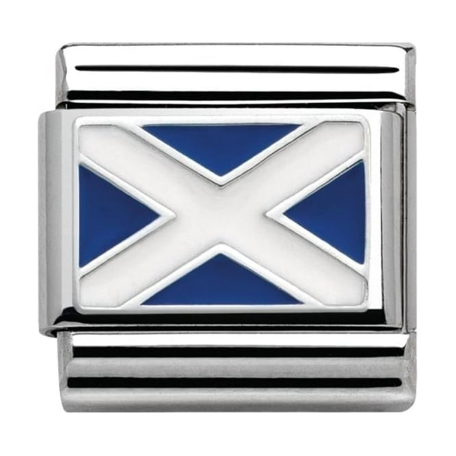 Nomination Classic Silver Daily Life Scottish Flag