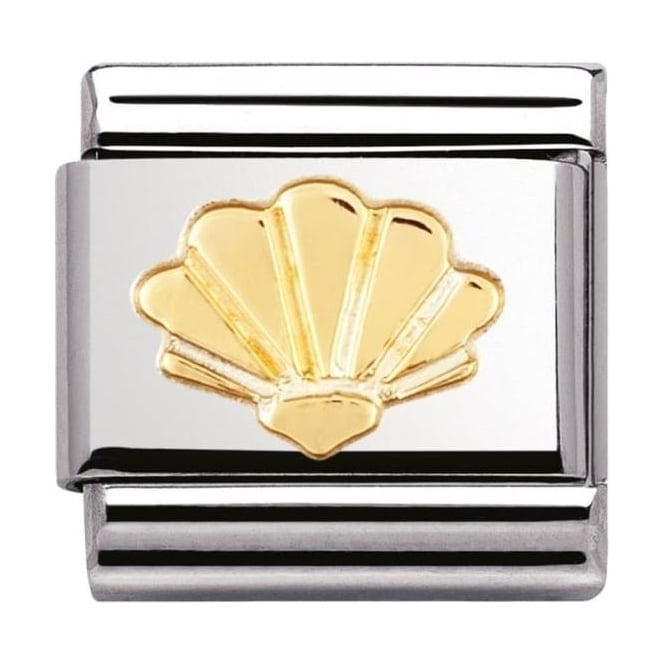 Nomination Classic Gold Shell Charm