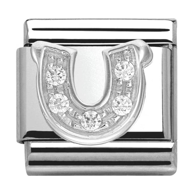 Nomination Classic Silver Daily Life Horseshoe