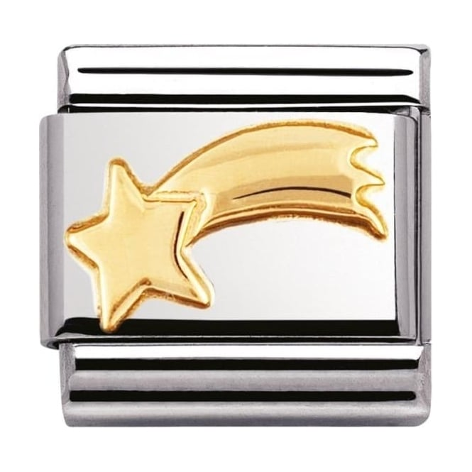 Nomination Classic Gold Shooting Star Charm - 03011020