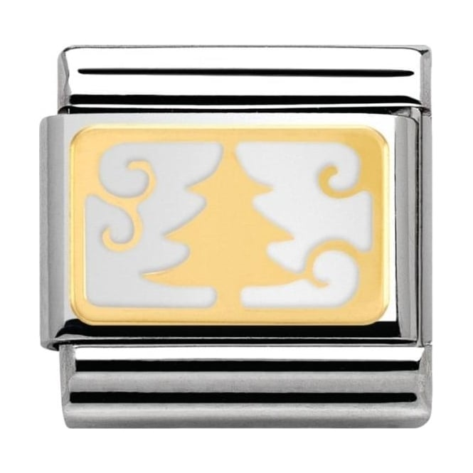 Nomination Classic Gold Christmas Tree Charm