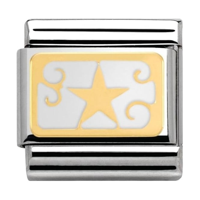 Nomination Classic Gold Star Charm