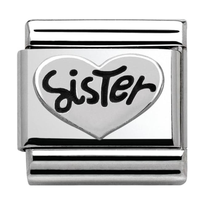 Nomination Classic Silver My-Family Sister