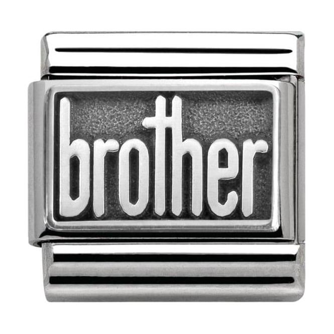 Nomination Classic Silver My-Family Brother