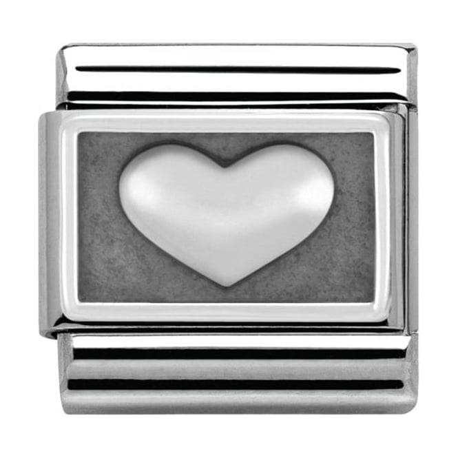 Nomination Sterling Silver Love Collection Heart