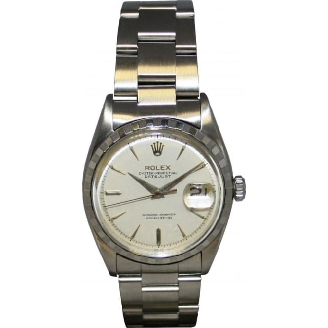 Pre-Owned Rolex Men's Vintage Stainless Steel Datejust