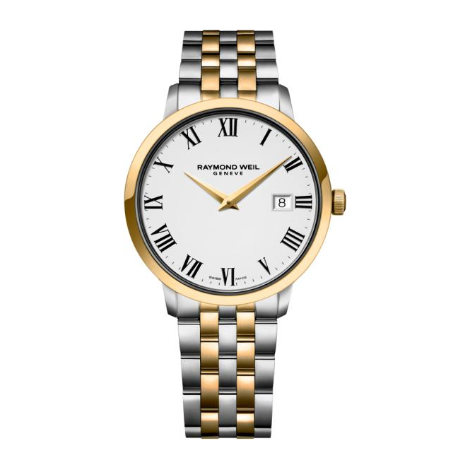 Raymond Weil Men's Bi-Metal Toccata Watch 5488-stp-00300
