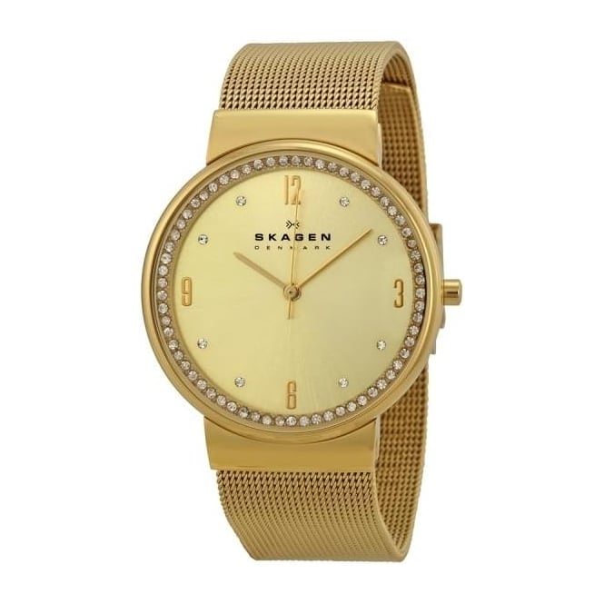 Skagen Ladies 'Ancher Champagne' Watch SKSKW2129