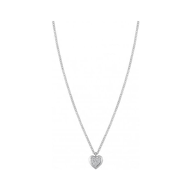 Nomination Necklace in Silver with Heart
