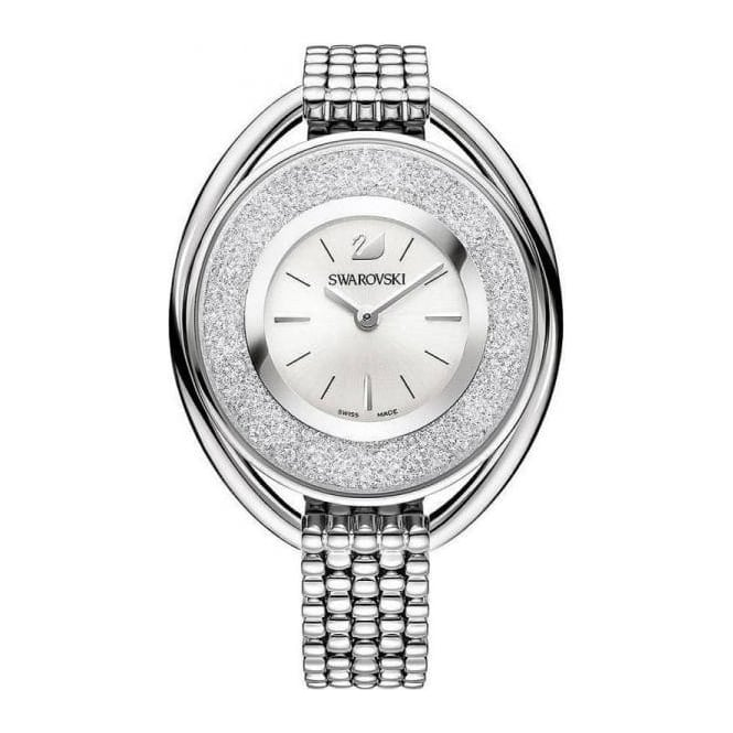 Swarovski LADIES CRYSTALLINE OVAL WHITE BRACELET WATCH 5181008
