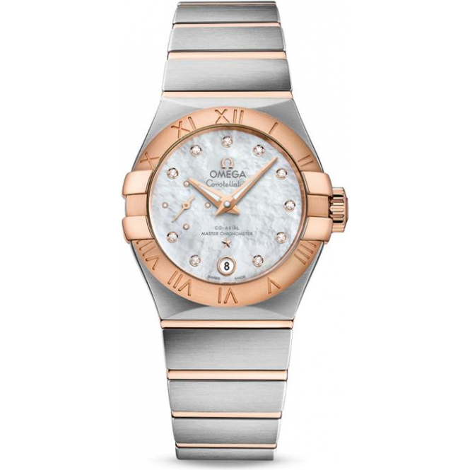 Omega Constellation Co-Axial Master Chronometer Small Seconds 27mm 127.20.27.20.55.001