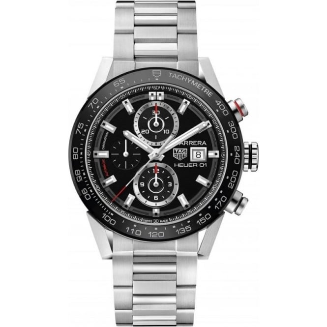 Tag Heuer Men's Stainless Steel Carrera Chronograph Watch CAR201Z.BA0714