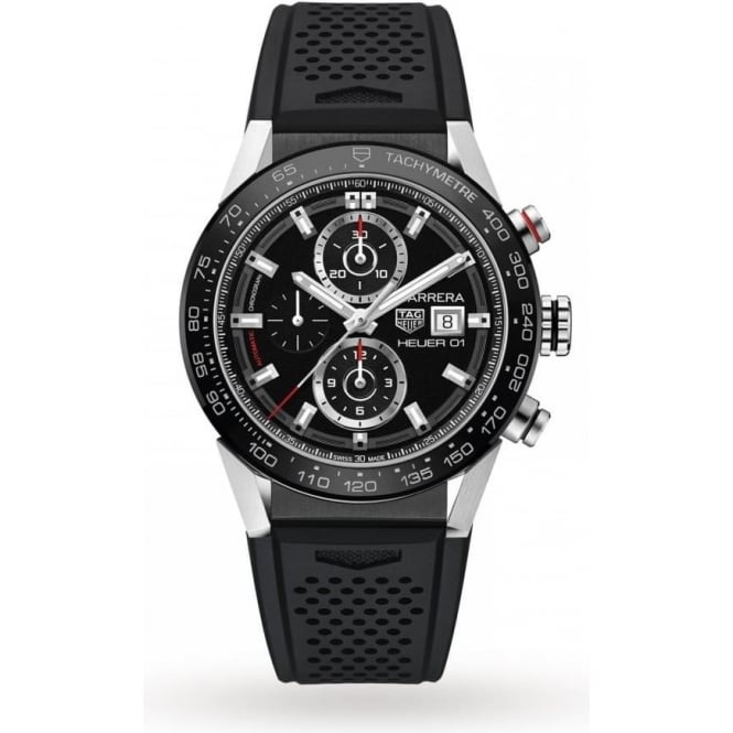 Tag Heuer Men's Carrera Chronograph Watch CAR201Z.FT6046