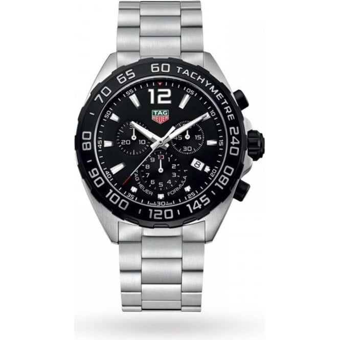 Tag Heuer Men's Stainless Steel Formula 1 Chronograph Watch CAZ1010.BA0842