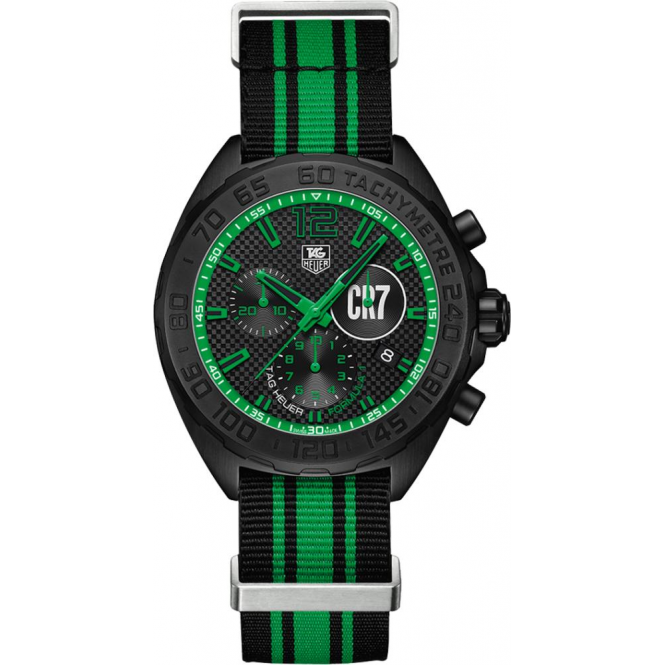 Men 39 s tag heuer formula 1cristiano ronaldo cr7 watch caz1113 fc8189 for Cristiano ronaldo tag heuer