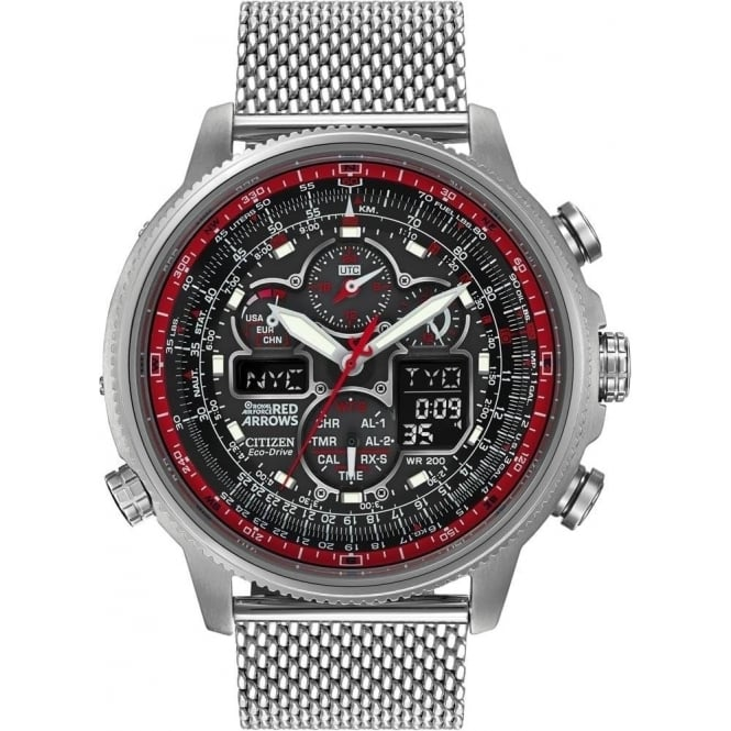 Citizen Mens Red Arrows Limited Edition Navihawk AT - JY8039-54E
